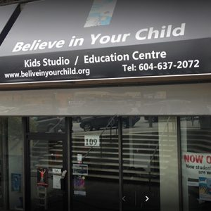 Believe in Your Child Education Centre