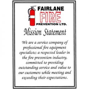 Fairlane Fire Prevention