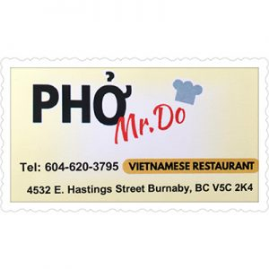 Mr Do Pho Restaurant